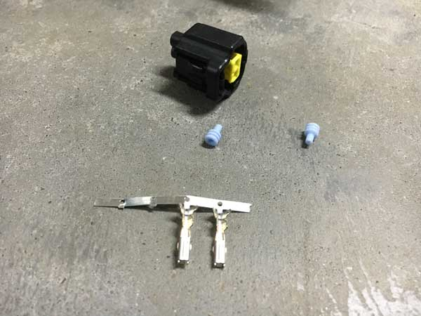 Tesla aircon solenoid connector kit