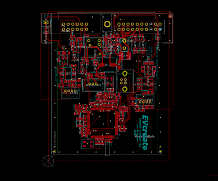 Schematic CHAdeMO fast charge controller